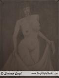 Disegno del Nudo, Delhi, India